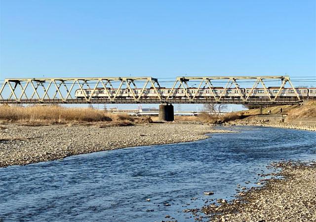 東武東上線入間川橋梁