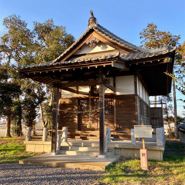 春日神社(川越市鯨井)