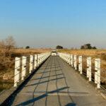 出丸冠水橋(入間川)