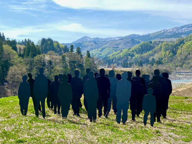 「記憶―記録」足滝の人々(大地の芸術祭)