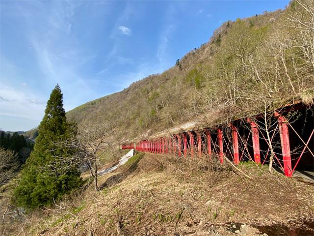 国道405号線(秋山郷)