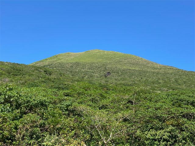 八丈富士・七合目登山口より